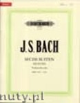 Okładka: Bach Johann Sebastian, Six Suites for Violoncello, BWV 1007 - 1012
