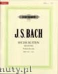 Ok�adka: Bach Johann Sebastian, Six Suites for Violoncello, BWV 1007 - 1012