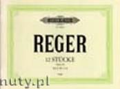 Okładka: Reger Max, 12 Stücke für Orgel Op. 59 Heft 2 (Nr. 7-12)