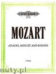 Ok�adka: Mozart Wolfgang Amadeusz, Adagio, Minuet and Rondo K 356 and K 493b No. 3