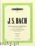 Okładka: Bach Johann Sebastian, 6 Solo Violoncello Suites BWV 1007 - 1012, Edition for Solo Double Bass, Vol. 3