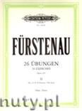 Okładka: Fürstenau Anton Bernhard, 26 Exercises Op.107 Vol.2