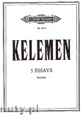 Okładka: Kelemen Milko, Five Essays for String Orchestra