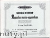 Okładka: Muffat Georg, Apparatus musico-organisticus (Org)