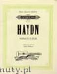 Ok�adka: Haydn Franz Joseph, Sonata in E Hob. XVI/13