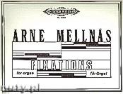 Okładka: Mellnäs Arne, Fixations (Org)