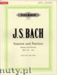 Okładka: Bach Johann Sebastian, The 6 Solo Sonatas and Partitas BWV 1001 - 1006 for Violin