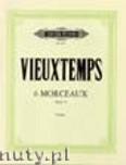 Okładka: Vieuxtemps Henry, 6 Morceaux Op. 55 for Violin