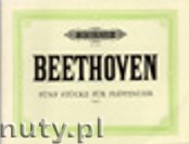 Ok�adka: Beethoven Ludwig van, Five Pieces for Flute Clock WoO 33 (Version for Organ)