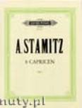 Okładka: Stamitz Anton, 8 Caprices for Flute