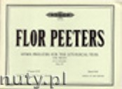 Okładka: Peeters Flor, Hymn Preludes for the Liturgical Year Op.100 Vol.17 (Org)