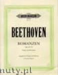 Okładka: Beethoven Ludwig van, Romances Op. 40, Op.50 for Violine and Orchestra (Edition for Violin and Piano)