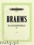 Okładka: Brahms Johannes, Piano Works Vol. 3: Collected Shorter Pieces (Urtext)