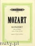Okładka: Mozart Wolfgang Amadeusz, Concerto No. 6 in E flat K268 for Violin and Orchestra (version for Violin and Piano)