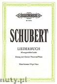 Okładka: Schubert Franz, Liederbuch (High Voice-Pf)