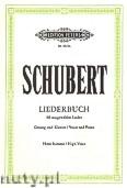 Ok�adka: Schubert Franz, Liederbuch (High Voice-Pf)