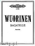 Okładka: Wuorinen Charles, Bagatelle for Piano
