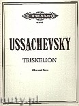 Okładka: Ussachevsky Vladimir, Triskelion for Oboe and Piano