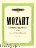 Ok�adka: Mozart Wolfgang Amadeusz, Clarinet Quintet in A major KV 581 for Clarinet and Piano