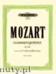 Okładka: Mozart Wolfgang Amadeusz, Clarinet Quintet in A major KV 581 for Clarinet and Piano