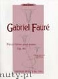 Ok�adka: Faur� Gabriel, Pieces breves for piano, Op. 84