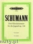 Ok�adka: Schumann Robert, Sonatas 'For the Young' Op.11