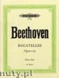 Okładka: Beethoven Ludwig van, Bagatelles for Piano, Op. 119