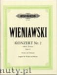 Ok�adka: Wieniawski Henryk, Concerto No.2 in D minor Op.22 (Vln-Pf)