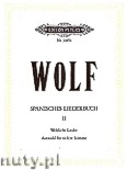Okładka: Wolf Hugo, Spanish Song Book, Vol. 2
