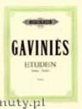 Okładka: Gavinies Pierre, 24 Etudes 'Matinées' for Violine
