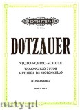 Okładka: Dotzauer Justus Johann Friedrich, Violoncello Tutor, Vol. 1