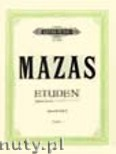 Okładka: Mazas Jacques-Féréol, Studies Op.36 Vol.2: 'Etudes brillantes' (Vln)