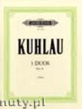 Ok�adka: Kuhlau Friedrich Daniel Rudolf, 3 Duos for 2 Flutes, Op. 81