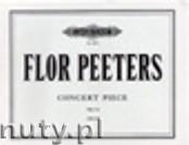 Okładka: Peeters Flor, Concert Piece Op. 52a for Organ