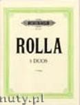 Okładka: Rolla Alessandro, 3 Duos for 2 Violen