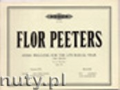 Okładka: Peeters Flor, Hymn Preludes for the Liturgical Year for Organ Op. 100, Vol. 21