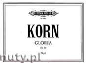 Ok�adka: Korn Peter Jona, Gloria, Rhapsodic Fantasia for Organ, Op. 49
