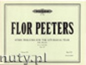 Okładka: Peeters Flor, Hymn Preludes for the Liturgical Year Op. 100, Vol. 20 for Organ