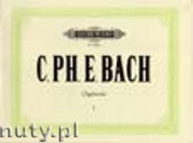 Okładka: Bach Carl Philipp Emmanuel, Organ Works, Vol. 1