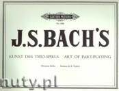 Okładka: Bach Johann Sebastian, Art of Part - Playing for Organ