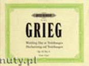 Ok�adka: Grieg Edward, Wedding Day at Troldhaugen Op. 65 No 6