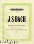 Ok�adka: Bach Johann Sebastian, The Flute Repertoire Vol.3 (Fl)