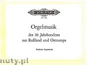 Okładka: , Russian Contemporary Organ Music