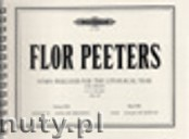 Okładka: Peeters Flor, Hymn Preludes for the Liturgical Year Op. 100 Vol. 13