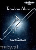 Okładka: Amram David, Trombone Alone for Trombone