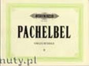 Ok�adka: Pachelbel Johann, Orgelwerke, Band 2