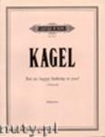 Ok�adka: Kagel Mauricio, For us: Happy Birthday to you