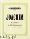 Okładka: Joachim Joseph, Cadenzas (Vln)