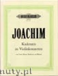 Ok�adka: Joachim Joseph, Cadenzas (Vln)