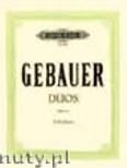 Ok�adka: Gebauer M., 12 Easy Duets Op. 10 for 2 Violines